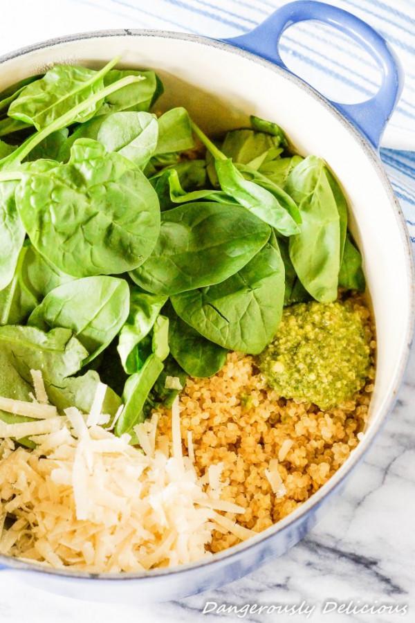 one-pot-spinach-pesto-quinoa
