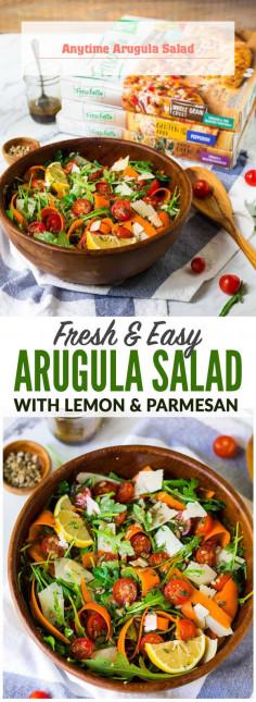 Anytime Arugula Salad
