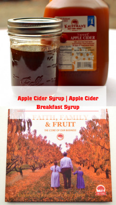 Apple Cider Syrup | Apple Cider Breakfast Syrup