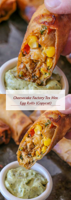 Cheesecake Factory Tex Mex Egg Rolls (Copycat)