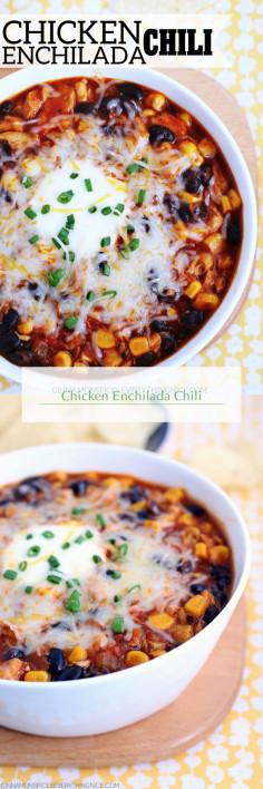 Chicken Enchilada Chili