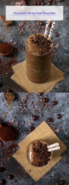 Chocolate Dirty Chai Smoothie