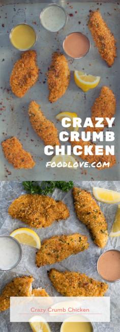 Crazy Crumb Chicken