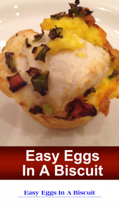 Easy Eggs In A Biscuit