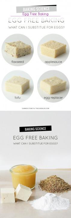 Egg Free Baking