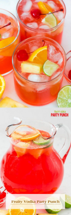 Fruity Vodka Party Punch