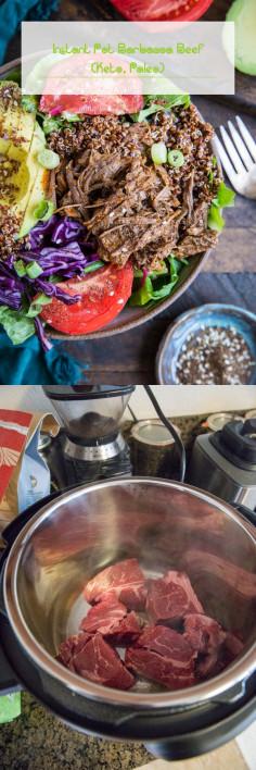 Instant Pot Barbacoa Beef (Keto, Paleo)