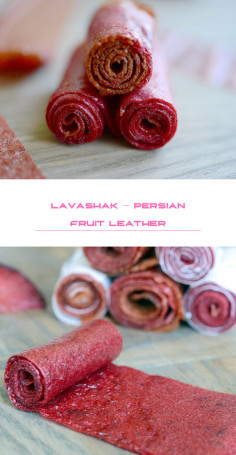Lavashak – Persian Fruit Leather