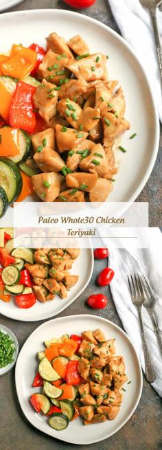 Paleo Whole30 Chicken Teriyaki