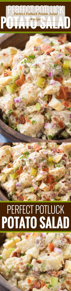 Perfect Potluck Potato Salad Recipe