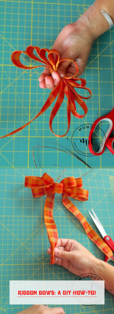 Ribbon Bows: A DIY How-To!