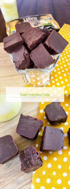 Sugar Free Keto Fudge