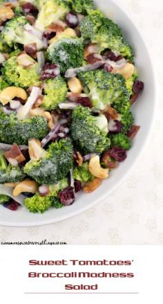 Sweet Tomatoes' Broccoli Madness Salad