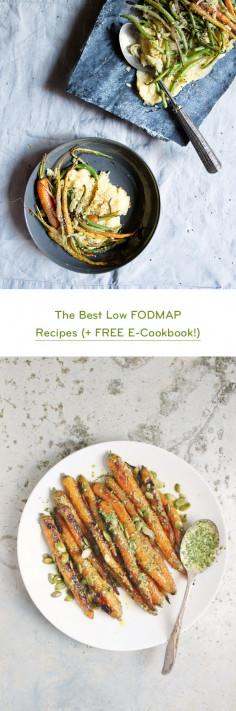 The Best Low FODMAP Recipes (+ FREE E-Cookbook!)