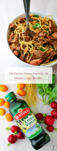 The Perfect Dinner Formula: 30 Minute Crispy Noodles