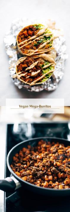 Vegan Mega-Burritos