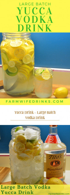 Yucca Drink – Large Batch Vodka Drink
